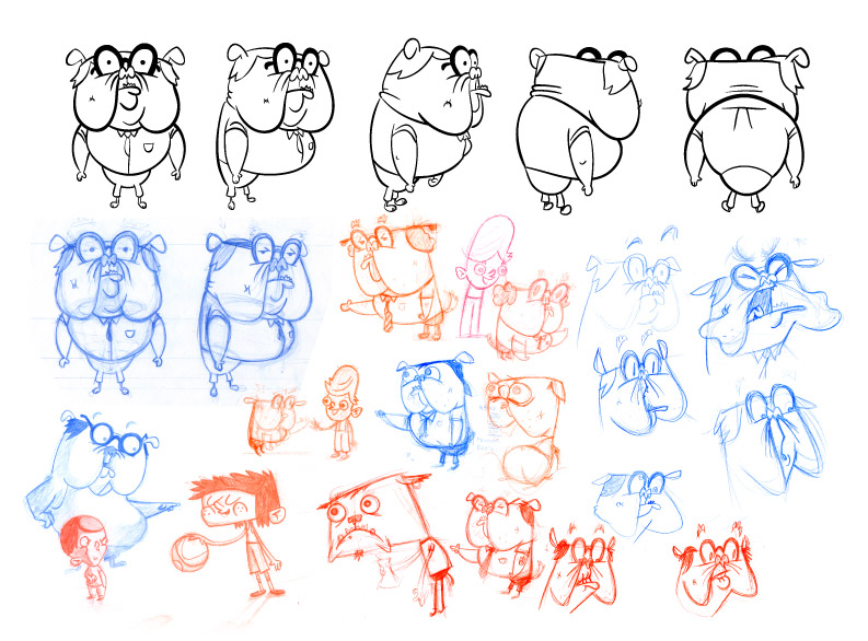 bulldog_character_turn_and_development_sketches